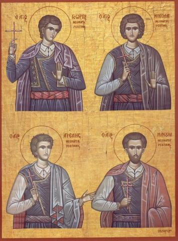 Agelis,Manoil, Gheorghios,Nicolae 28oct - Agelis,Manoil, Gheorghios,Nicolae 28oct