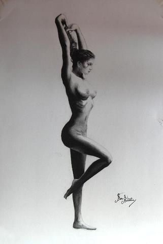 ''nude''(50euro35x48cmcharcoal on paper2009no framefor sale).jpg -